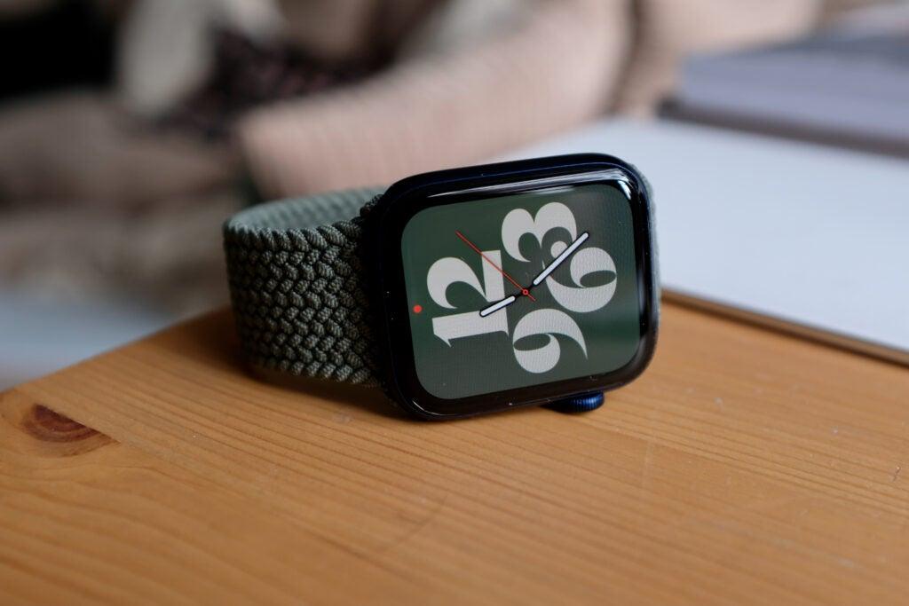 Apple Watch 6 ansikte