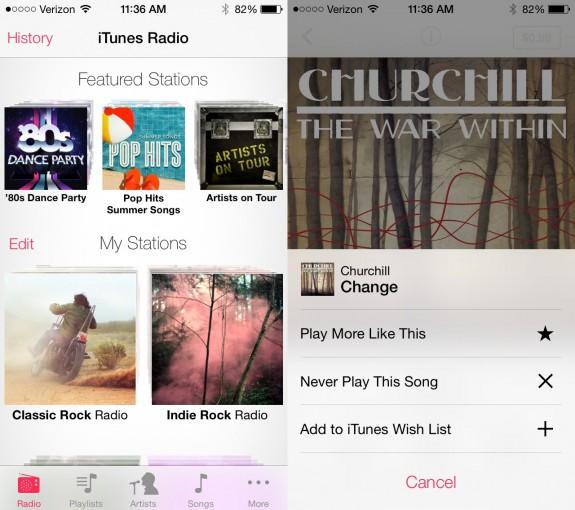 iTunes Radio är en del av iOS 7 och bör komma till alla iPhone- och iPad -användare i höst.