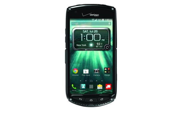 Kyocera Brigadier erbjuder en safirskärm och ett nytt dropptest visar hur hållbar en iPhone 6 kan vara.