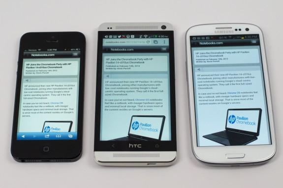 Apple kan erbjuda en iPhone 6 i början av 2014 med en större skärm för att konkurrera med Android -enheter.