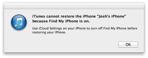 iPhone -säkerhet iOS 7