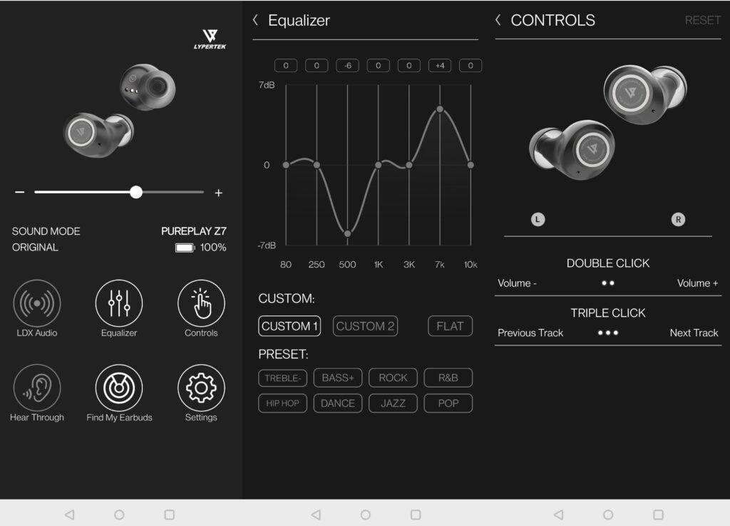 Lypertek PureControl -app