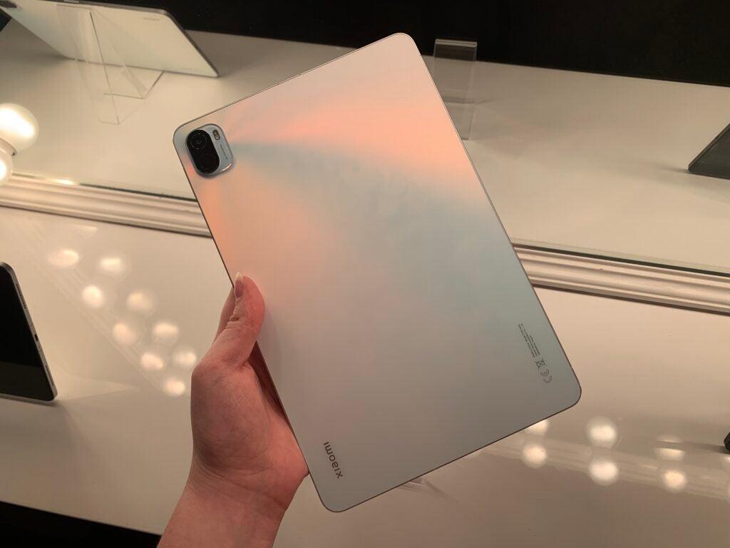 Xiaomi Pad 5 tillbaka