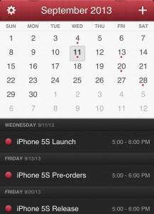 Rykten om släppningsdatum för iPhone 5S