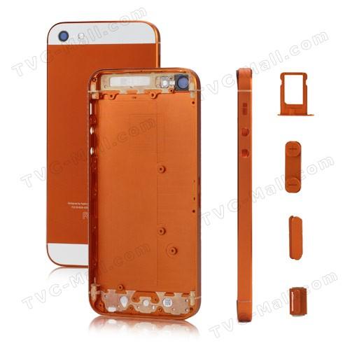 Detta är ett reservdelskit för iPhone 5, som innehåller en ny SIM -kortfackfärg, men faktiskt inte pekar på nya iPhone 5S -färger.