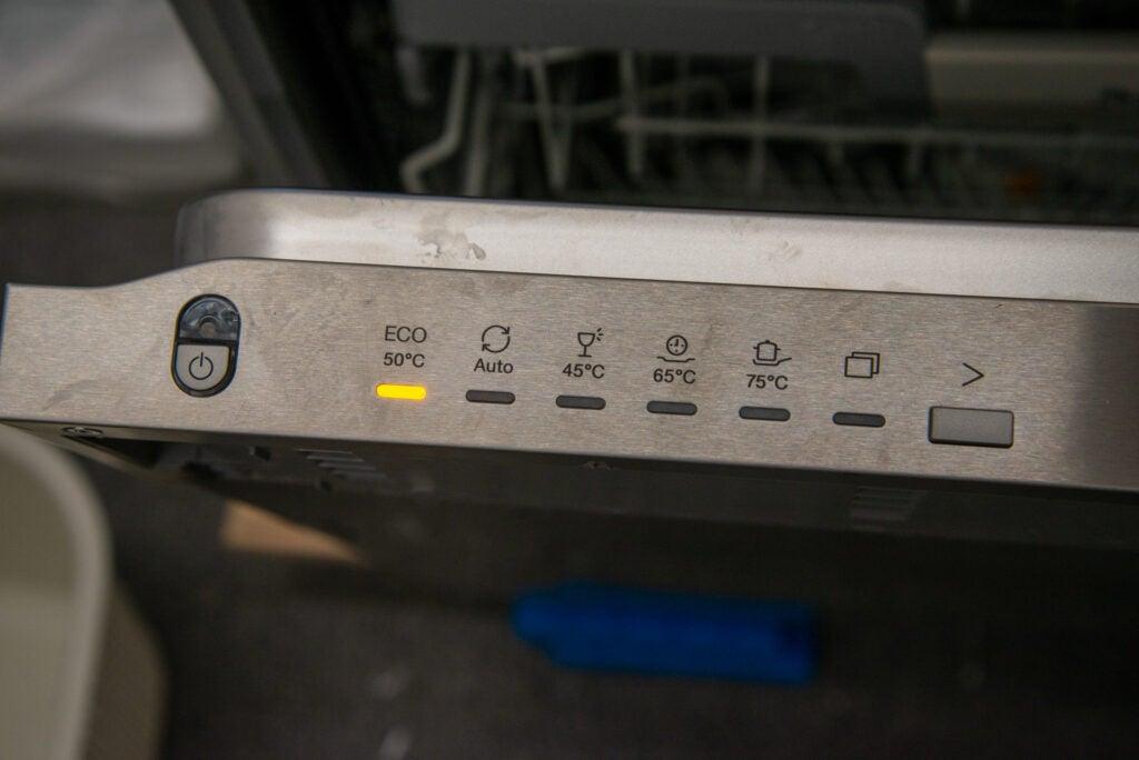 Miele G 7160 SCVi AutoDos programväljare