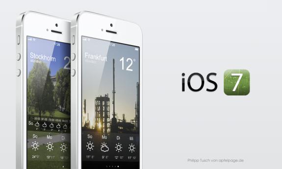 Detta koncept för en iOS 7 -väderapp ser snyggare ut än iOS 6 och erbjuder snabbare åtkomst till mer detaljerad väderinformation.