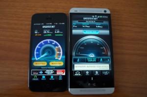 Min iPhone 5 4G LTE -anslutning är fortfarande stark.