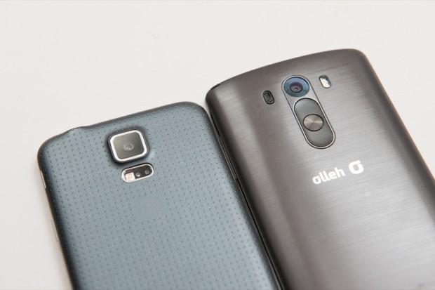 LG G3 erbjuder AT&T Verizon Sprint