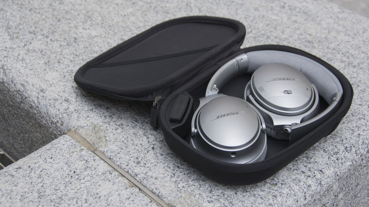 Bose-QuietComfort-35-trådlösa hörlurar