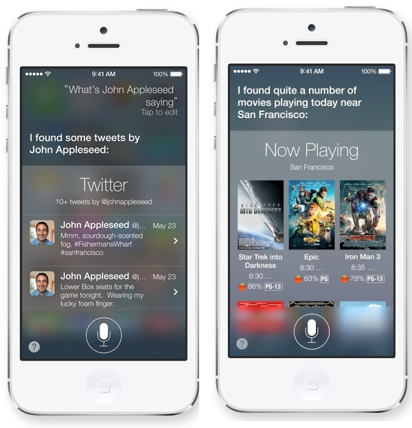 Siri kan mycket mer i iOS 7.