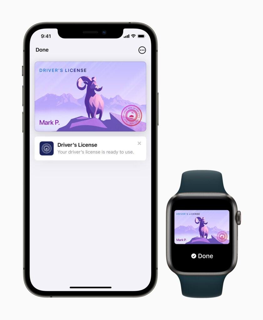 Apple Watch iPhone lägger till ID