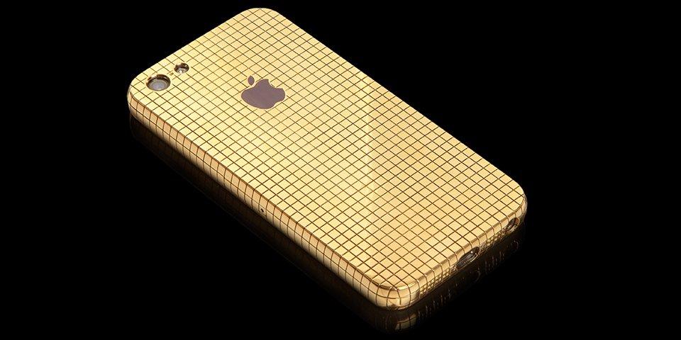 Denna massiva guld iPhone 5 kan bli din för endast $ 75 000.