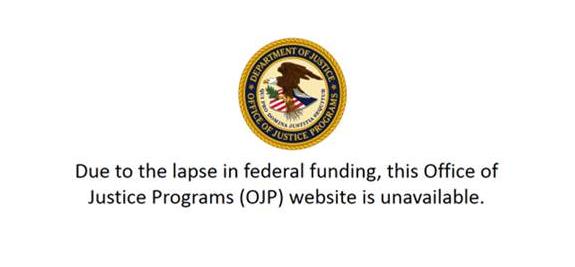 Amber Alert -webbplatsen är offline tack vare regeringens avstängning.