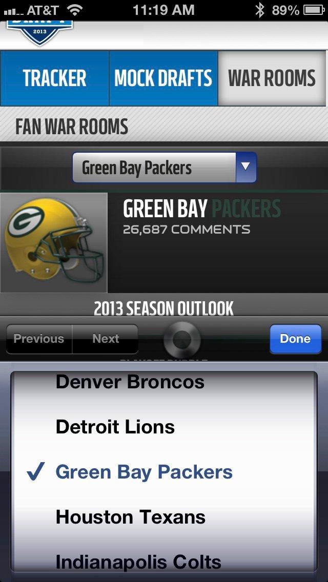 NFL mobilsajt