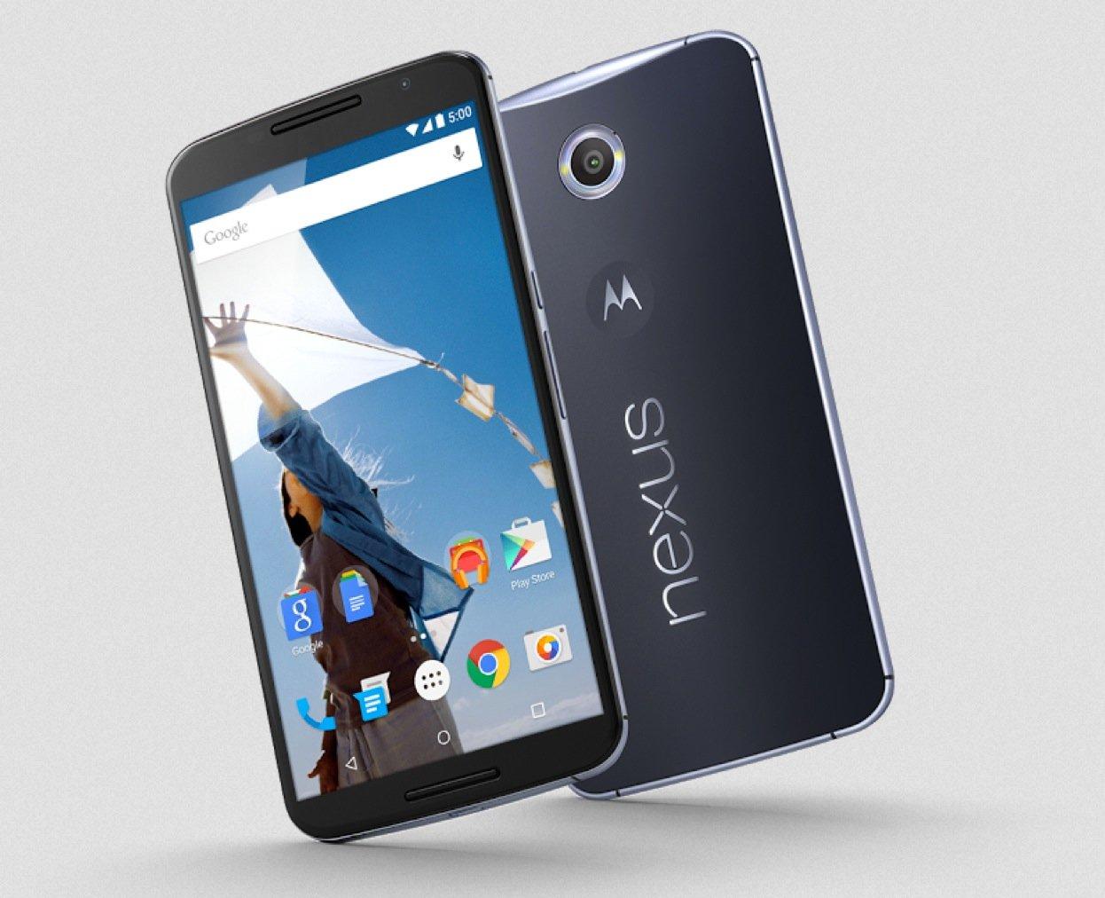 Nexus 6 förbeställningar startar den 29 oktober