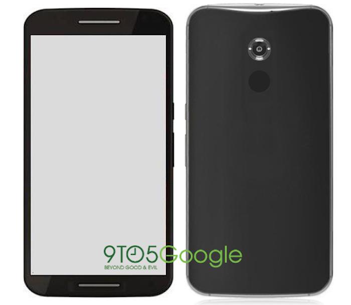 Detta är en ryktebaserad återgivning av Nexus 6 och inte en riktig produkt