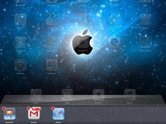 Stäng appar på en iPad
