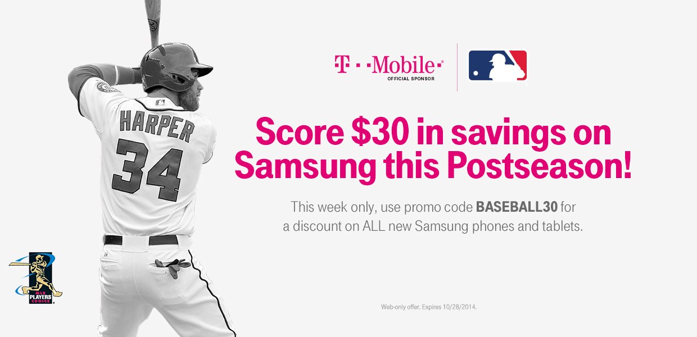 Ett T-Mobile Galaxy Note 4-erbjudande slår $ 30 av priset.