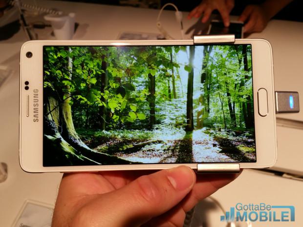 Samsung har en 2k -skärm i Galaxy Note 4.