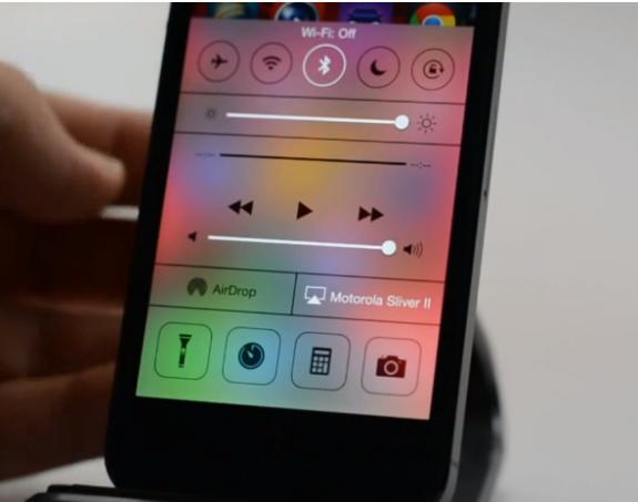 Kontrollcenter-iOS-7