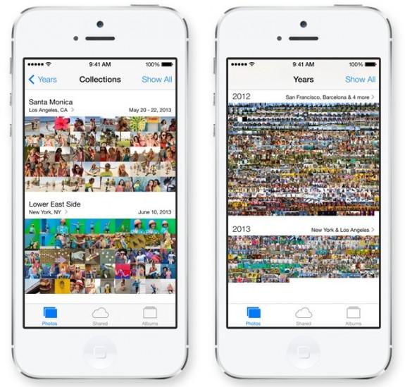 Den nya appen iOS 7 Photos gör det lättare att hitta foton.