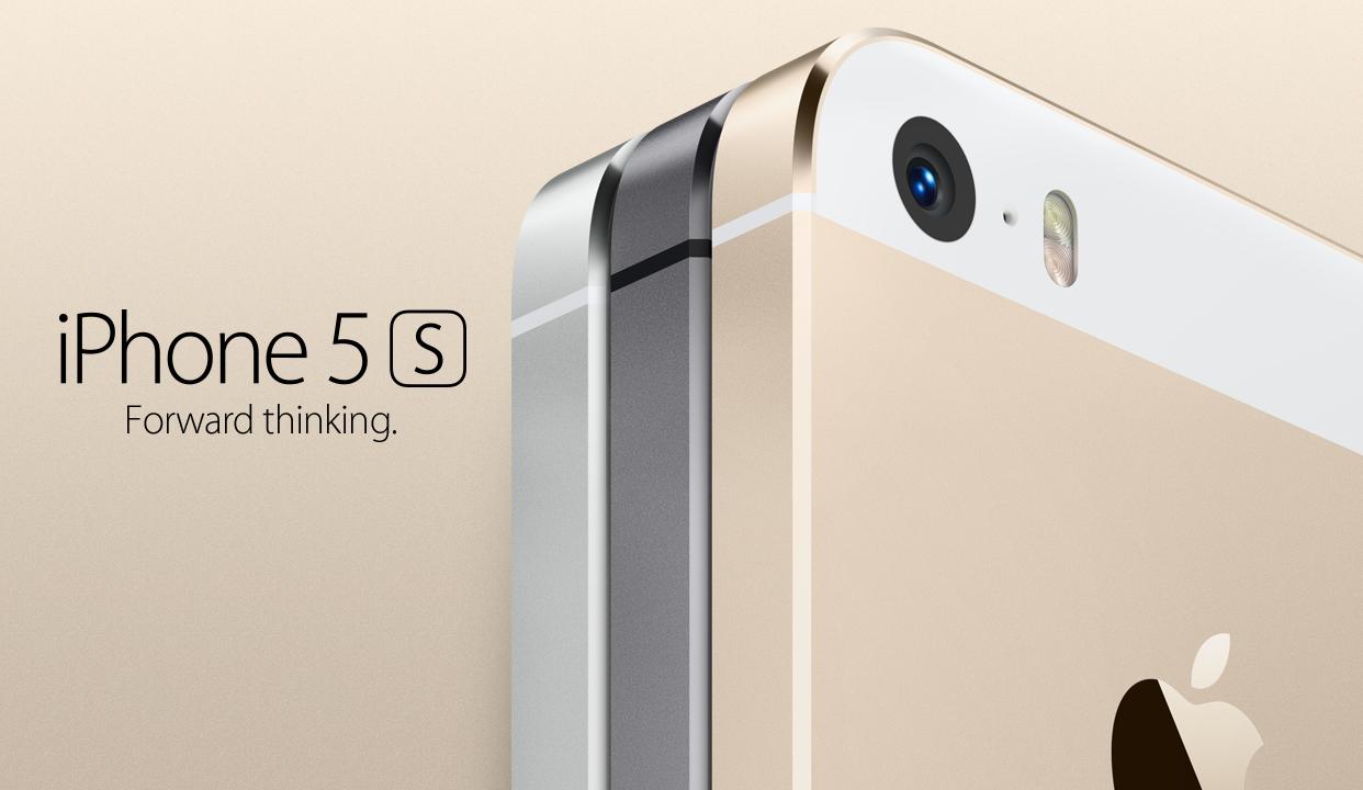 Apple säljer en iPhone 5S i guld för första gången.