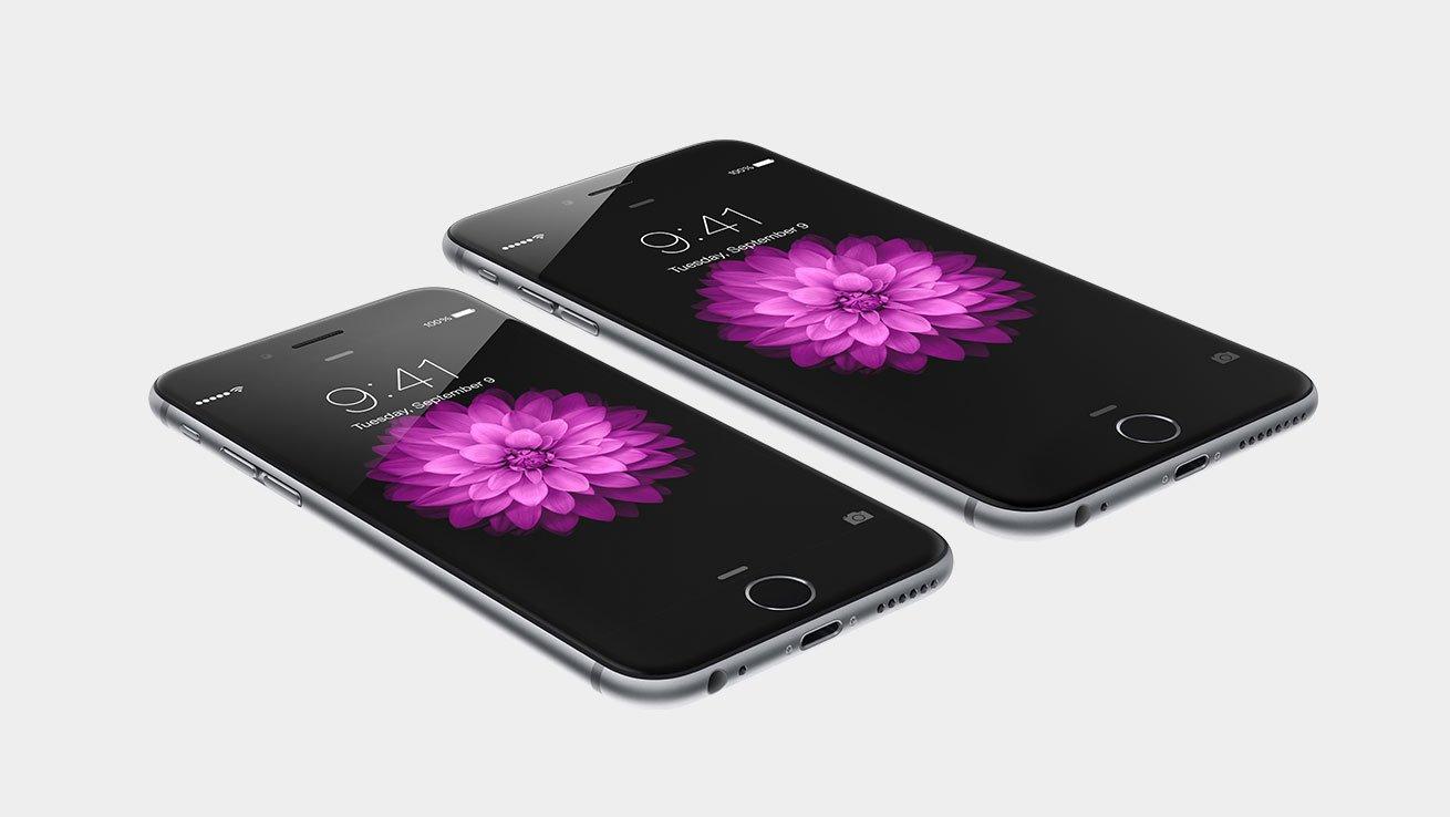 Vi visar hur iPhone 6 och iPhone 4 jämförs.
