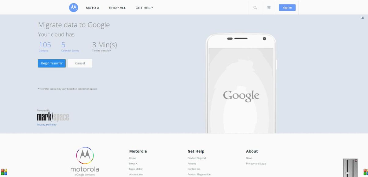 Byt iPhone till Moto X med det här nya verktyget.