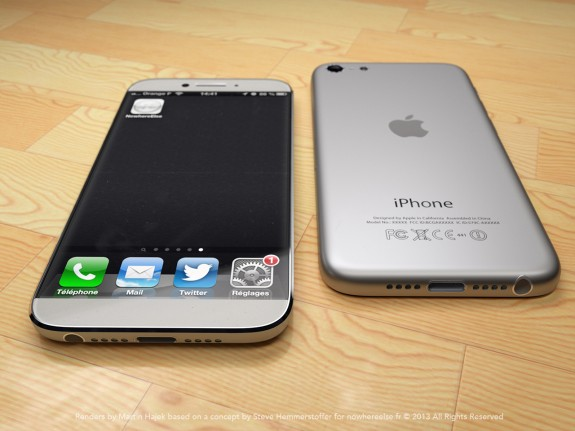 Ännu ett skott av iPhone 6 -konceptet.