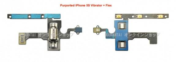 En hävdad iPhone 5S -vibratordel läcker före lanseringen.