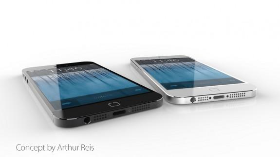 Ett nytt iPhone 6 -koncept med en tunn design, vattentäta funktioner och en ny hemknapp.