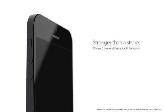 Ett robust, vattentätt iPhone 6 -koncept.