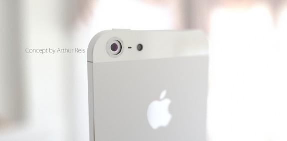 IPhone 6 -konceptet hävdar en uppgraderad kamera.
