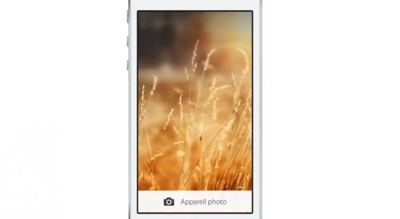 IPhone-låsskärmen, ombildad.