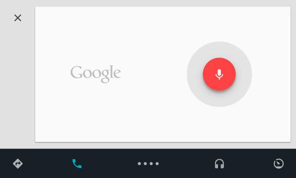 Använd din röst för att styra Android Auto, en ny bilfunktion som kommer med Android L.