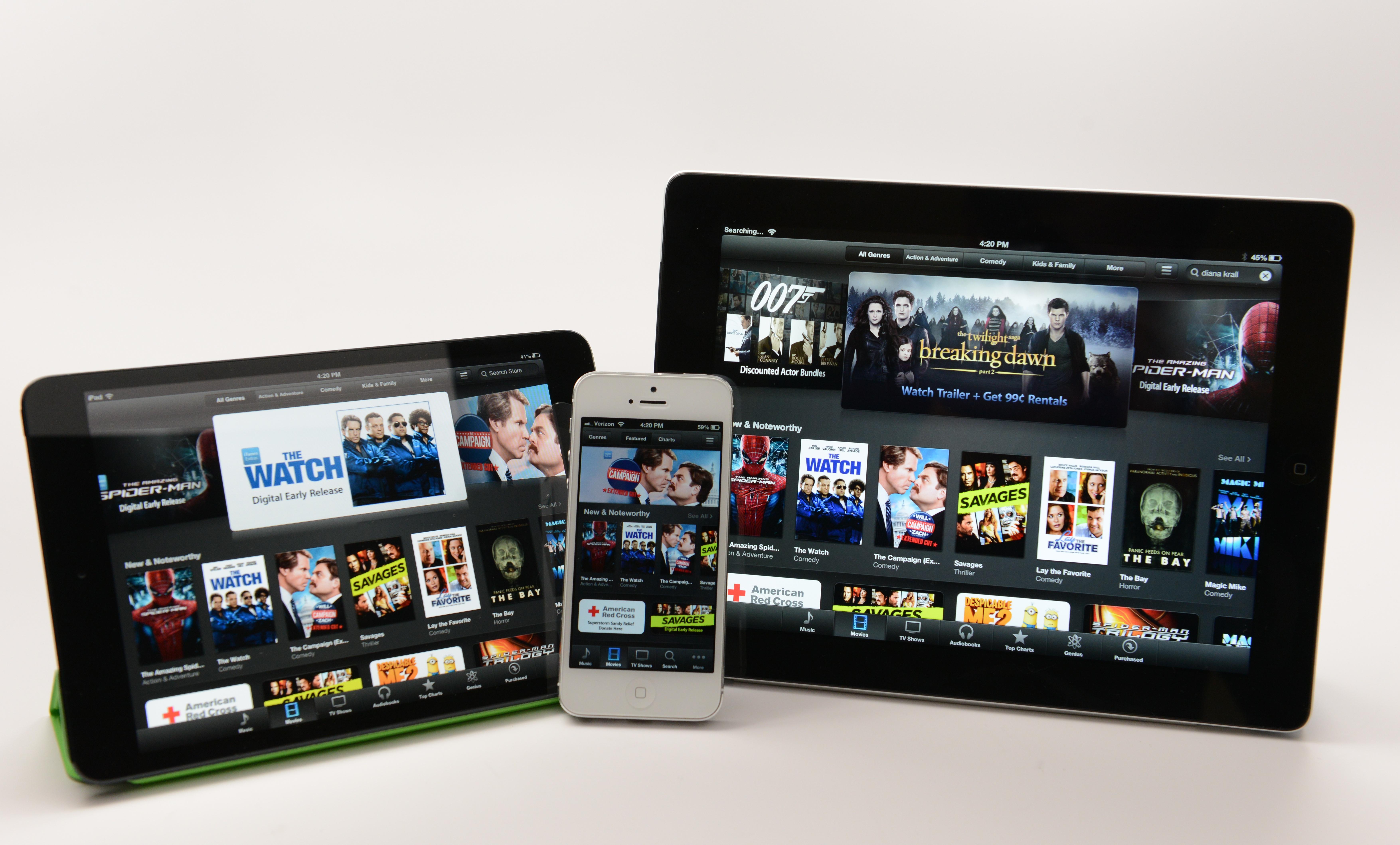 IPhone, iPad 4 och iPad mini drev Apple till stora vinster från år till år.
