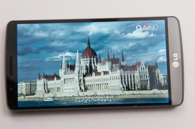 LG G3 har en fantastisk 5,5-tums 2k-skärm