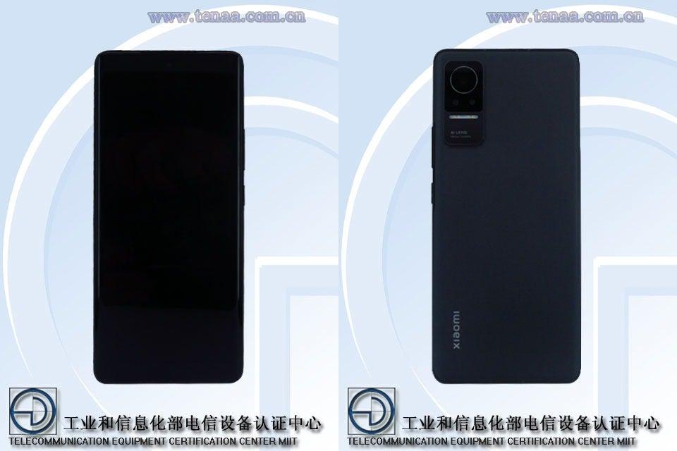 Xiaomi telefon 4K OLED -skärm