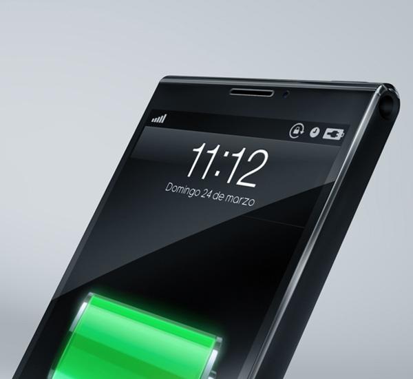 Ett snyggt iPhone 6 -koncept.